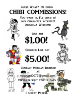 Chibi Commisions Ad web by TrashME