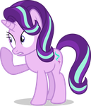 Mlp Fim Starlight Glimmer (using this horn) vector by luckreza8