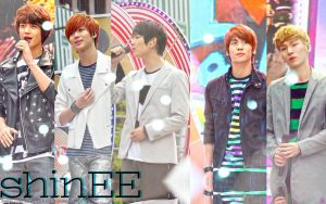 SHINee - rainy day by Sweetkrystyna
