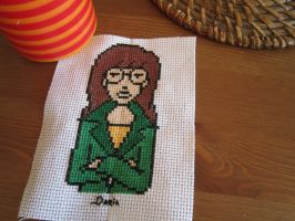 Daria cross stitch by Santian69