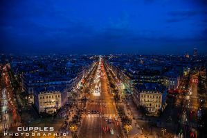 Champs Elysees by cupplesey