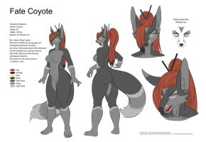 Character reference Fate Coyote by Einom