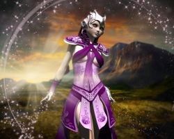Queen Taverious by Zenonmyst