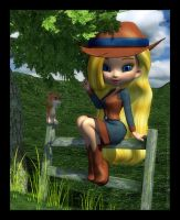 Li'l Country Girl by RavenMoonDesigns