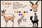 Chipo Ref Sheet by chubird