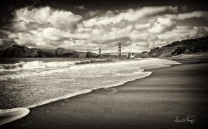 Golden Gate Bridge I by tt83x