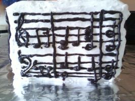 Happy Birthday Music Cake-2 by Band-Geek24