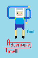 Finn adventure time by SpaceWaffleDelivery