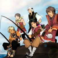 Suikoden - Heroes Meeting Part 2 by HikariShuyo