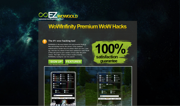 ezwowgold.com redesign 1 by oEXE