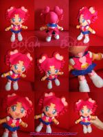 chibi Sailor Chibi Chibi plush version by Momoiro-Botan