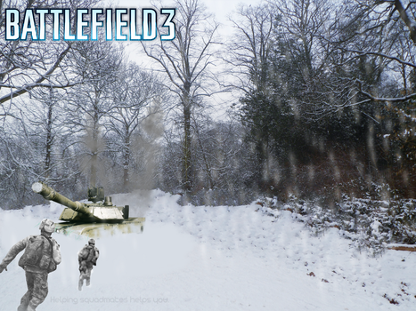 Battlefield 3 by BLGraphical