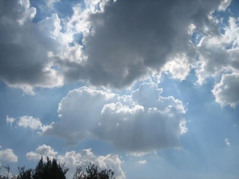 Dramatic clouds 1 by Wolfke74