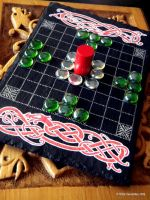 Hnefatafl  Board by twistedstrokes