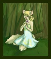Flower in the Forest by mouseymachinations
