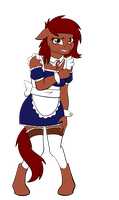 Penny the Maid by Acesential