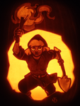 Into the Crypt - Cadence Pumpkin by johwee