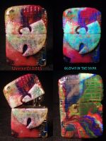 Wu Tang Zippo By Undead Ed Glows in the Dark 1 by Undead-Art