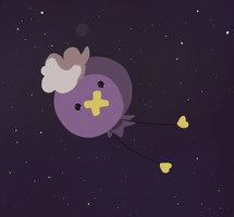 Drifloon In Space by HappyCrumble