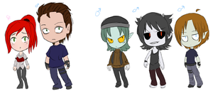 Vampire OCs - Contest Entry - Updated Voices by Sparkle-arkle