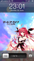 Iphone Date A Live Itsuka Kotori by Akw-Art-Design