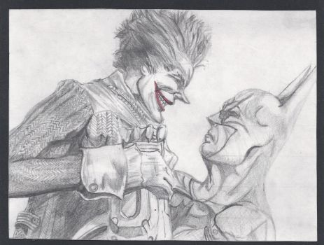 Batman and The Joker by pabloknot