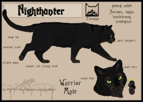 Nighthunter sheet by FallenDynasty