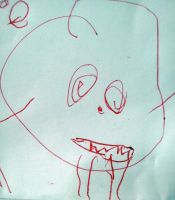 My son's monster Art 2 by mistabrown