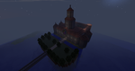 Princess Peach's Castle MINECRAFT by GSVProductions