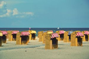 Beach Chairs by dunkeltoy