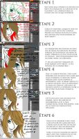 Tutoriel - Cheveux (french) by Fafanny15