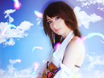 Yuna Cosplay - Lady Yuna she'd just smile by cyberlight