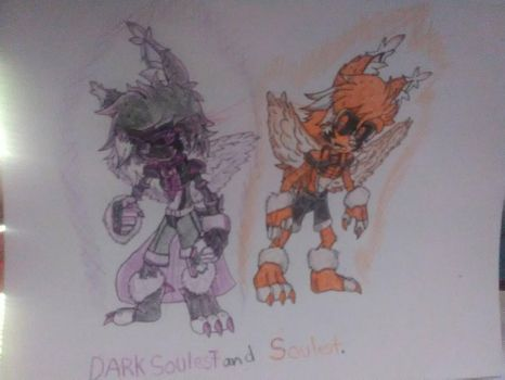 Dark Soulest And Soulest by sammy2002baby