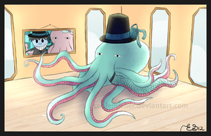The octopus took your hat by Emsoble