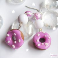 Donuts Earrings by caithness-shop