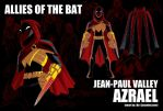 Allies of the Bat: Azrael by jasonhohoho