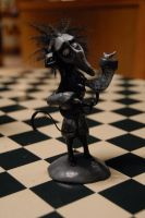 Tim Burton Vincent sculpt by Miki-