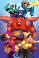 Big Hero 6 by WhitneyCook
