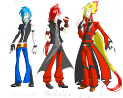 ebil trio in KH? by EmmieSensei