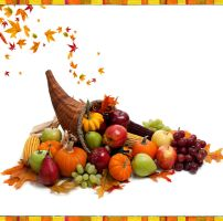 Thanksgiving day  cornucopia by ritaflowers