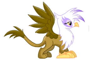 Gilda Griffon by Knight-of-Bacon