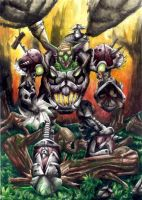 Warcraft - Goblin Shredder by Vincent-Northwind