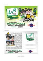 Flyer VIERRA LIVE IN CONCERT by ignra
