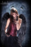 black angel by darkart84