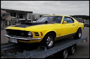 1970 Ford Mustang Mach 1 by compaan-art