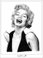 Marilyn Monroe by donalbain