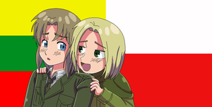 Liet and Po by MagicalPouchOfMagic