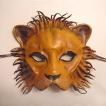 Leather Mask of a a Lion by teonova