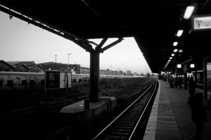 Waiting for another train... by MrBlueSky1987