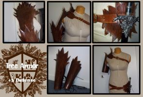Tree bark armor by Plus3Defense